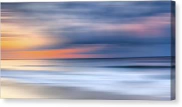 Surrealistic Canvas Print - Laguna Hues by Sean Davey