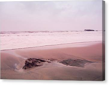 Canvas Print featuring the photograph Laguna Shores Memories by Heidi Hermes