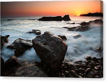 Laguna Sunset Canvas Print by Eric Foltz