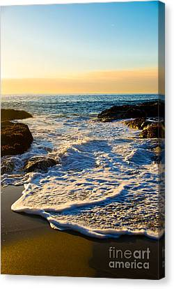 Laguna Sunset Canvas Print by Kelly Wade
