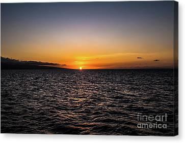 Lahaina Sunset Canvas Print