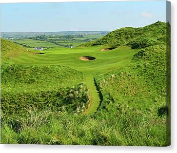 Lahinch Golf Club - Hole #8 Canvas Print
