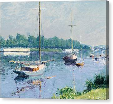 Lake Argenteuil Canvas Print