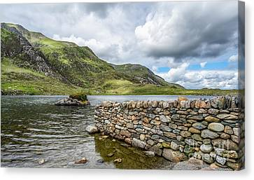 Lake At Idwal Canvas Print