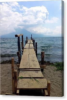 Lake Atitlan Dock Canvas Print