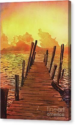 Lake Atitlan- Guatemala Canvas Print by Ryan Fox