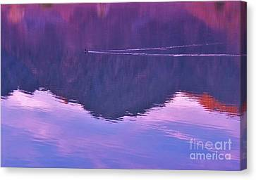 Lake Cahuilla Reflection Canvas Print