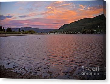 Lake Chelan Sunset Canvas Print