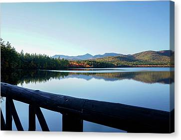 Lake Chocorua Autumn Canvas Print