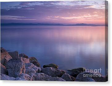 Lake Constance Canvas Print by Silke Magino