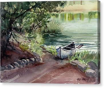 Lake Dreams Canvas Print by Kris Parins