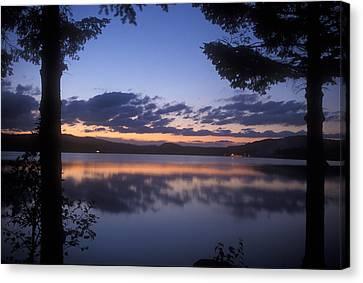 Lake Francis Twilight Canvas Print by John Burk