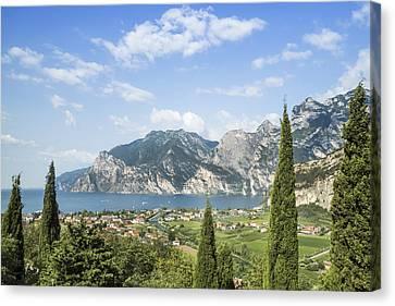 Lake Garda Gorgeous Italy Canvas Print