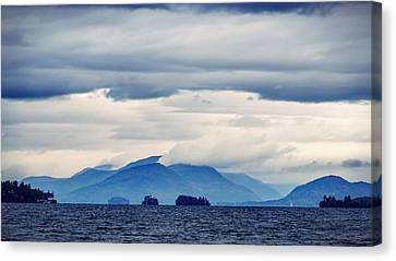 Lake George Is The Queen Of American Lakes Canvas Print