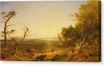 Lake George Canvas Print by Jasper Francis Cropsey