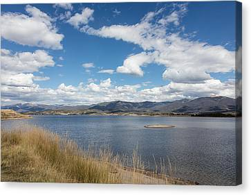 Canvas Print featuring the photograph Lake Granby -- The Third-largest Body Of Water In Colorado by Carol M Highsmith