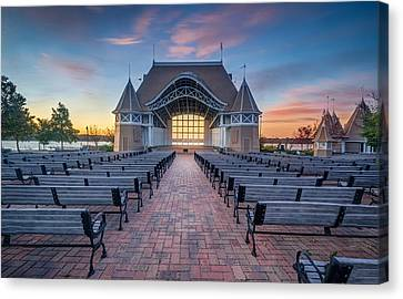Lake Harriet Bandshell Canvas Print by RC Pics