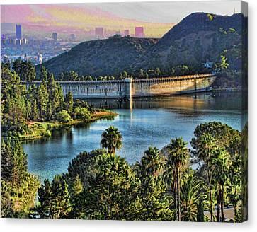Lake Hollywood Canvas Print