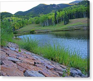 Canvas Print featuring the photograph Lake Isabel Colorado by Tammy Sutherland