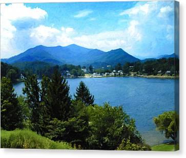 Lake Junaluska Nc Canvas Print
