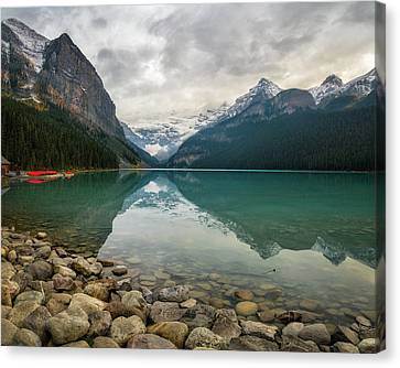 Lake Louise In The Fall Canvas Print