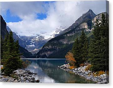 Lake Louise Canvas Print by Larry Ricker