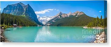 Lake Louise Mountain Lake Canvas Print