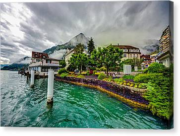 Lake Lucerne Canvas Print by Asif Islam