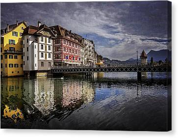 Lake Lucerne  Canvas Print by Carol Japp