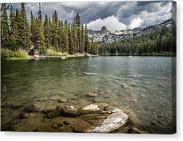 Lake Maime Canvas Print by Cat Connor