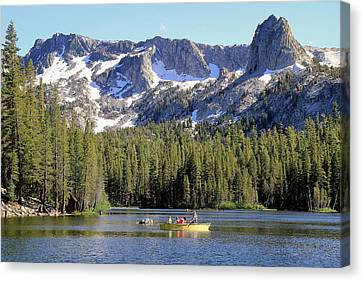 Lake Mamie Canvas Print by Donna Kennedy