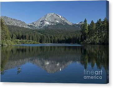 Lake Manzanita Reflection Canvas Print