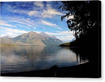 Lake Mcdonald 20 Canvas Print by Marty Koch