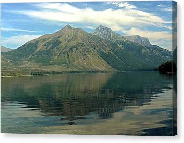 Lake Mcdonald 51 Canvas Print by Marty Koch
