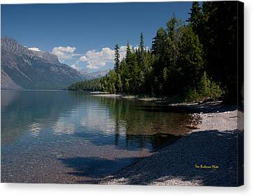 Lake Mcdonald Montana Canvas Print by Tom Buchanan