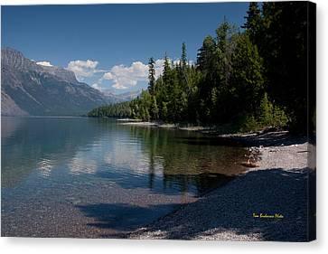 West Glacier Canvas Print - Lake Mcdonald Montana by Tom Buchanan