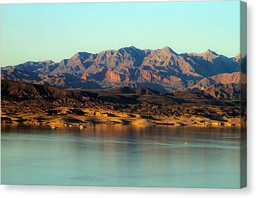 Lake Mead Before Sunset Canvas Print