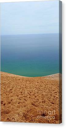 Lake Michigan Colors Canvas Print