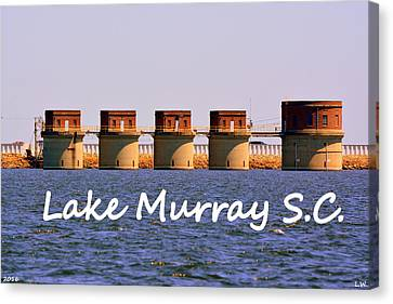 Lake Murray S C Canvas Print by Lisa Wooten