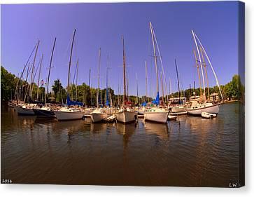 Lake Murray S C Marina Canvas Print