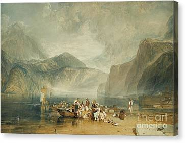 Lake Of Lucerne Canvas Print