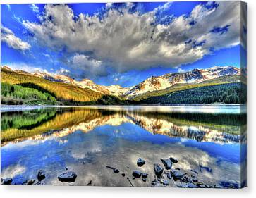 Fort Collins Canvas Print - Lake Of Time by Scott Mahon