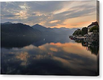 Lake Orta Canvas Print by Joana Kruse