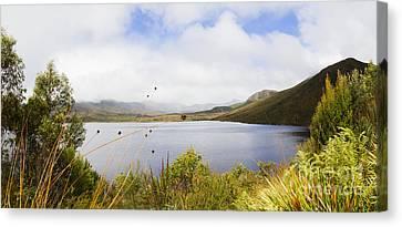 Natural Scenes Canvas Print - Lake Plimsoll In Western Tasmania Australia by Jorgo Photography - Wall Art Gallery