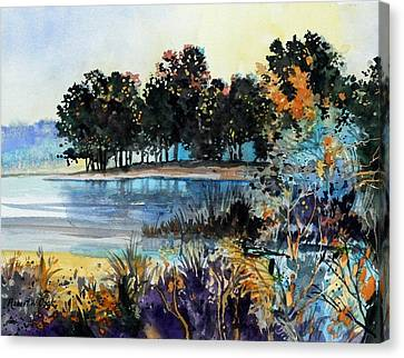 Demo Canvas Print - Lake Point by Robert W Cook