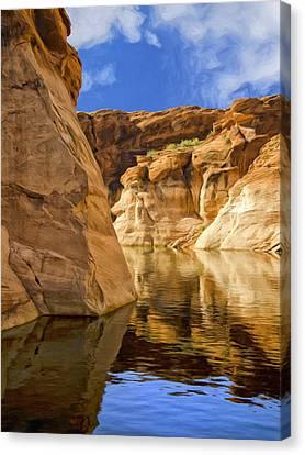 Lake Powell Stillness Canvas Print
