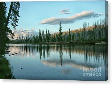 Lake Reflections Canvas Print