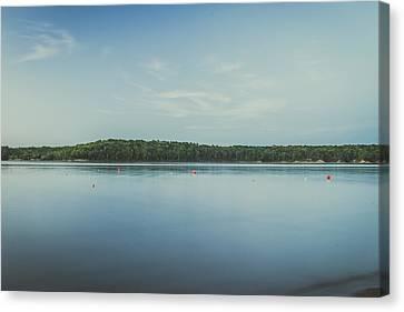 Lake Scene Canvas Print by Scott Meyer