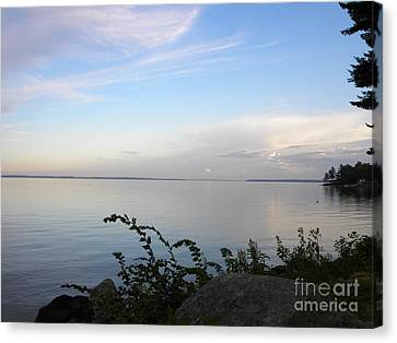 Lake Sebago Maine #4 Canvas Print