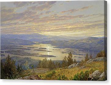 Lake Squam From Red Hill Canvas Print